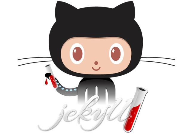 El Octocat de Jekyll